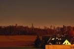 Kirchberg im Mondlicht
